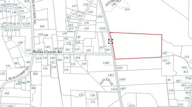 0 Nc Highway 801 S, Advance, NC 27006 (MLS #846241) :: Banner Real Estate
