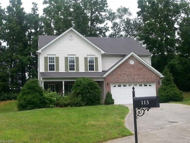 113 Smith Branch Court, Kernersville, NC 27284 (MLS #846464) :: Kristi Idol with RE/MAX Preferred Properties