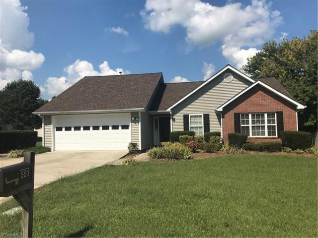 553 Orchard Ridge Lane, Greensboro, NC 27455 (MLS #851180) :: Lewis & Clark, Realtors®
