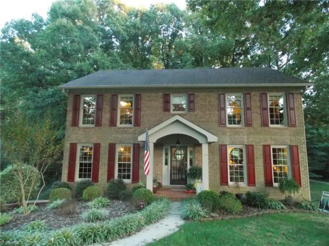 180 Sunny Acres Drive, Lewisville, NC 27023 (MLS #854086) :: The Umlauf Group