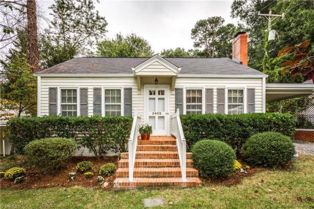 2405 Delaware Avenue, Greensboro, NC 27408 (MLS #854597) :: Banner Real Estate