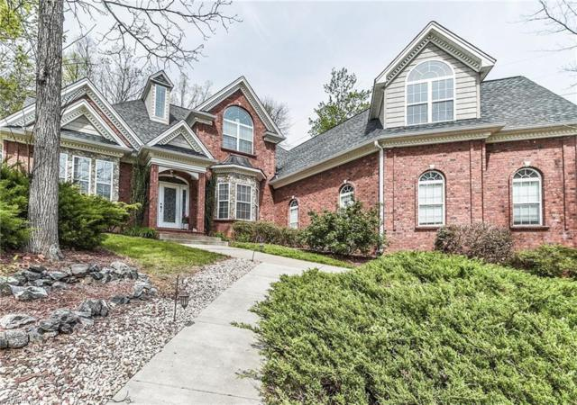 864 Ridge Gate Drive, Lewisville, NC 27023 (MLS #854913) :: Banner Real Estate