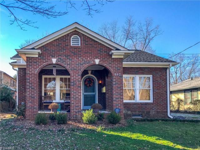 842 Brent Street, Winston Salem, NC 27103 (MLS #861427) :: Banner Real Estate