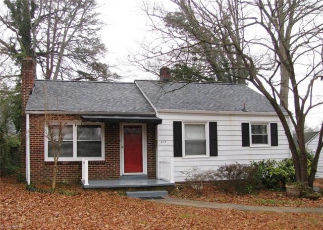 619 Knollwood Street, Winston Salem, NC 27103 (MLS #870818) :: Banner Real Estate