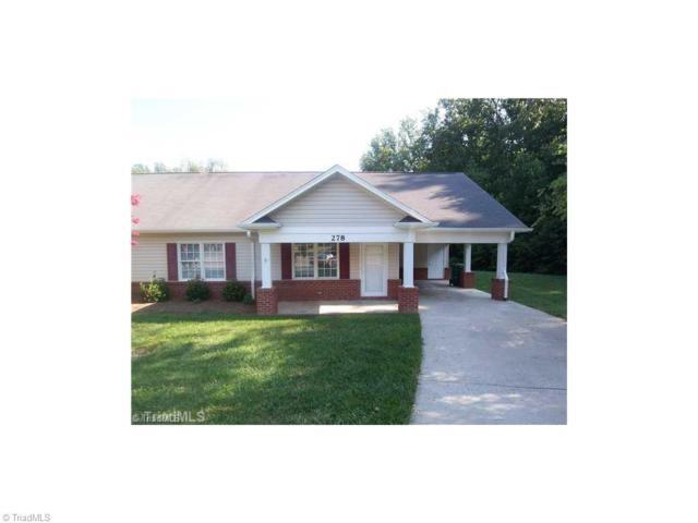 278 S Boyles Street, Pilot Mountain, NC 27041 (MLS #871519) :: Banner Real Estate