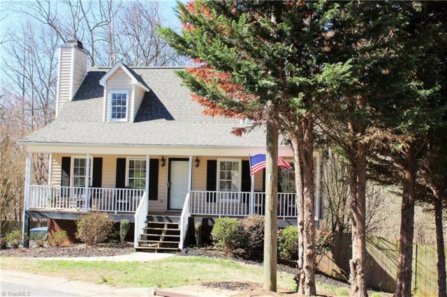 4536 Princess Drive, Winston Salem, NC 27127 (MLS #877702) :: Banner Real Estate