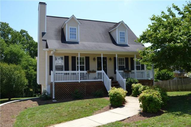 257 Townsend Ridge Drive, Winston Salem, NC 27107 (MLS #890891) :: Banner Real Estate