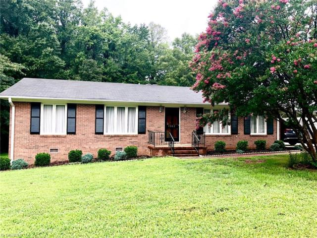 1502 Brewster Drive, Greensboro, NC 27409 (MLS #897767) :: Banner Real Estate