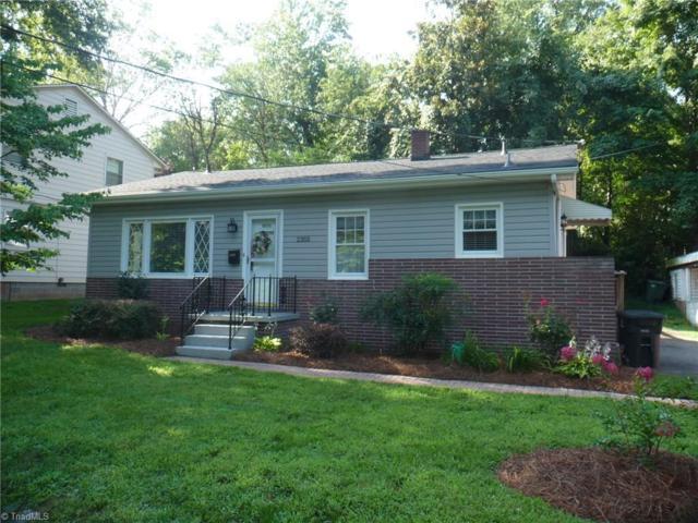 2352 Parkway Drive, Winston Salem, NC 27103 (MLS #899734) :: Banner Real Estate