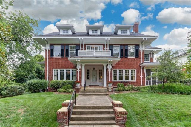 108 Fisher Park Circle, Greensboro, NC 27401 (MLS #902630) :: The Temple Team