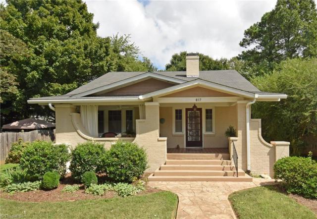 817 Melrose Street, Winston Salem, NC 27103 (MLS #902814) :: Kristi Idol with RE/MAX Preferred Properties