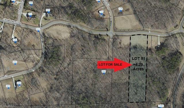 81 Crows Nest Drive, Stokesdale, NC 27357 (MLS #910099) :: Ward & Ward Properties, LLC