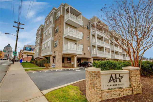 605 W Market Street #214, Greensboro, NC 27401 (MLS #914210) :: HergGroup Carolinas