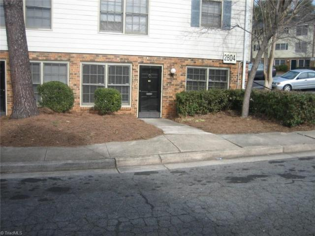 2804 Carriage Drive F, Winston Salem, NC 27106 (MLS #915531) :: NextHome In The Triad