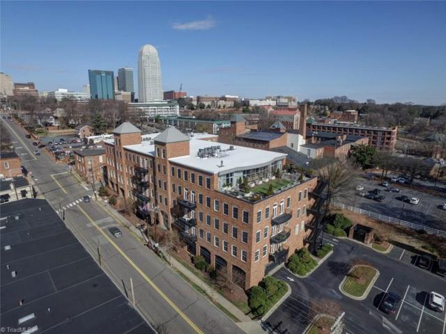 411 S Marshall Street #205, Winston Salem, NC 27101 (MLS #915918) :: Kristi Idol with RE/MAX Preferred Properties