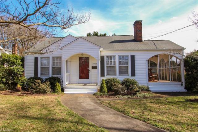 1065 Miller Street, Winston Salem, NC 27103 (MLS #917045) :: Kristi Idol with RE/MAX Preferred Properties
