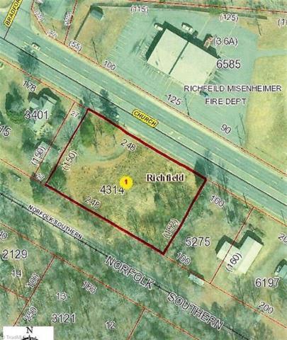 0 W Church Street, Richfield, NC 28137 (MLS #917292) :: Lewis & Clark, Realtors®