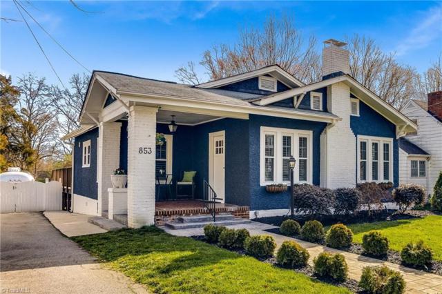 853 Lockland Avenue, Winston Salem, NC 27103 (MLS #917303) :: Kristi Idol with RE/MAX Preferred Properties