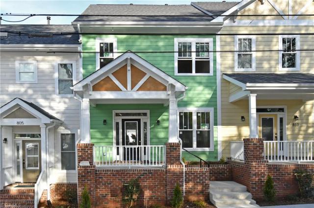 809 S Poplar Street, Winston Salem, NC 27101 (MLS #917478) :: NextHome In The Triad