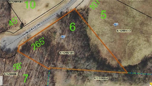 467 Parksfield Trail, Ramseur, NC 27316 (MLS #919525) :: Ward & Ward Properties, LLC