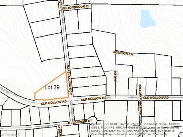 5700 Marshallgate Drive, Winston Salem, NC 27105 (MLS #927752) :: Greta Frye & Associates | KW Realty Elite