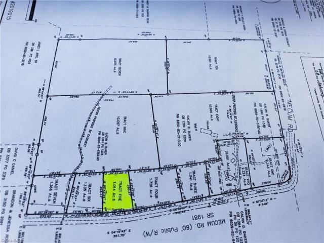 4422 Mecum Road Tract 5, Walkertown, NC 27051 (MLS #929163) :: Kim Diop Realty Group