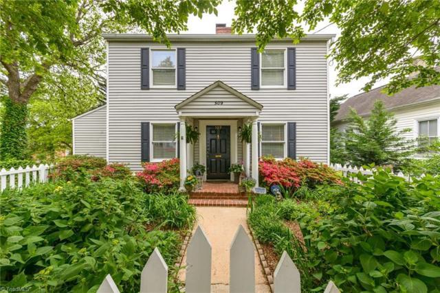 509 S Green Street, Winston Salem, NC 27101 (MLS #930344) :: HergGroup Carolinas