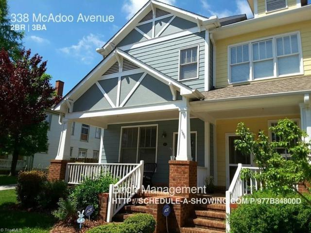 338 Mcadoo Avenue, Greensboro, NC 27406 (MLS #932196) :: HergGroup Carolinas | Keller Williams