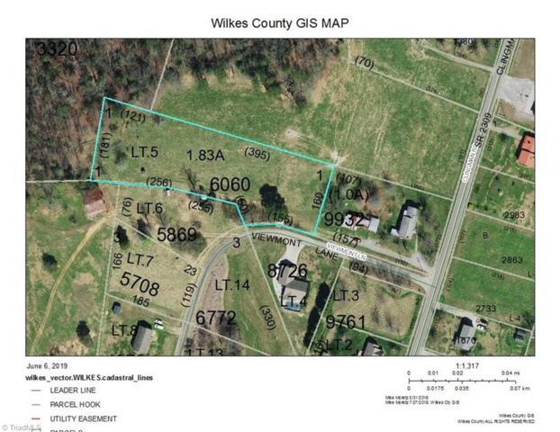 0 Viewmont Lane, Ronda, NC 28670 (MLS #935647) :: Ward & Ward Properties, LLC