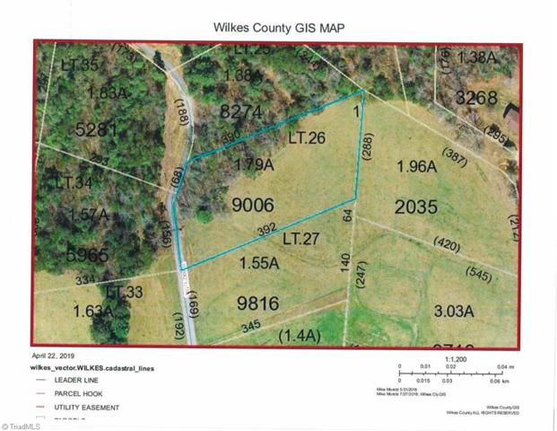 0 Turkey Trail, Mcgrady, NC 28649 (MLS #936433) :: RE/MAX Impact Realty