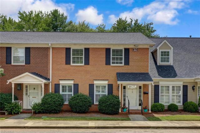 20 Fountain Manor Drive B, Greensboro, NC 27405 (MLS #940093) :: Ward & Ward Properties, LLC
