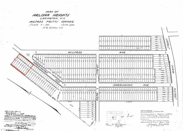 0 Harrington Avenue, Lexington, NC 27292 (MLS #940694) :: HergGroup Carolinas   Keller Williams