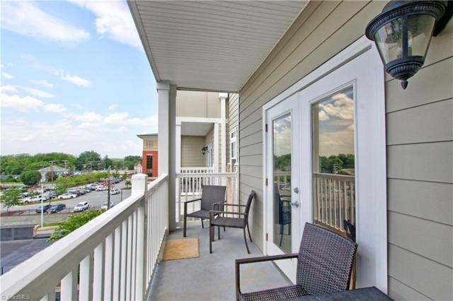 605 W Market Street #408, Greensboro, NC 27401 (MLS #943614) :: Ward & Ward Properties, LLC