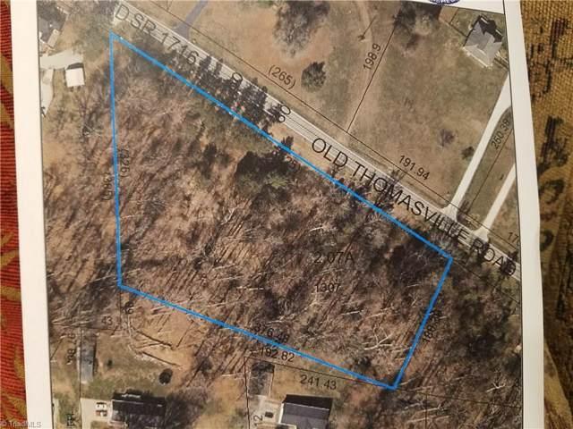 0 Old Thomasville Road, Winston Salem, NC 27107 (MLS #949084) :: Berkshire Hathaway HomeServices Carolinas Realty