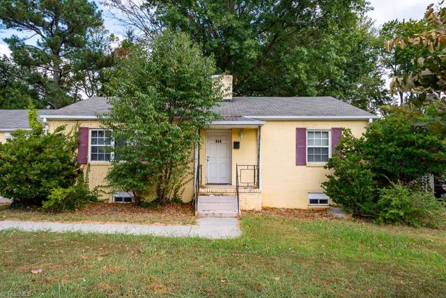 107 W Clemmonsville Road, Winston Salem, NC 27127 (MLS #949912) :: RE/MAX Impact Realty