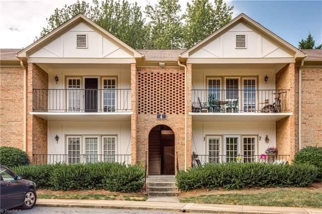 4 Fountain View Circle F, Greensboro, NC 27405 (MLS #952173) :: Ward & Ward Properties, LLC