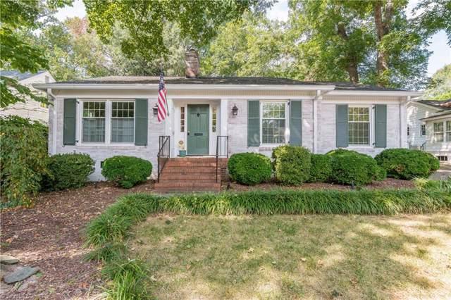 1107 Hill Street, Greensboro, NC 27408 (MLS #952221) :: Ward & Ward Properties, LLC