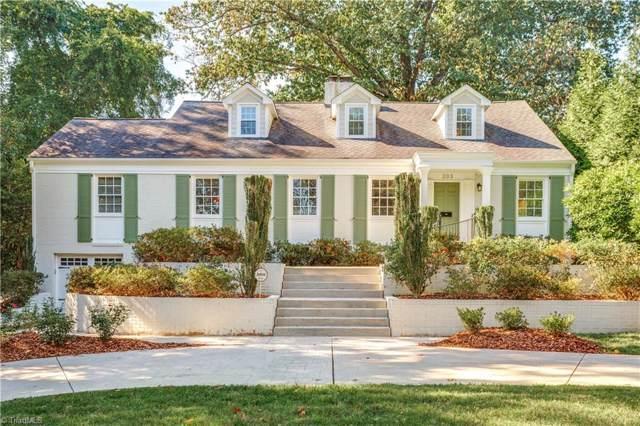 203 Elmwood Drive, Greensboro, NC 27408 (MLS #953280) :: HergGroup Carolinas | Keller Williams
