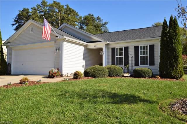 620 Lake Way, Kernersville, NC 27284 (MLS #954394) :: Ward & Ward Properties, LLC