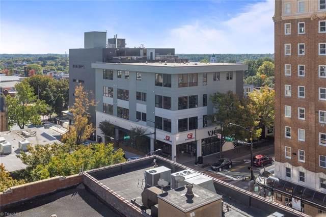 400 W 4th Street #304, Winston Salem, NC 27101 (MLS #954619) :: Ward & Ward Properties, LLC