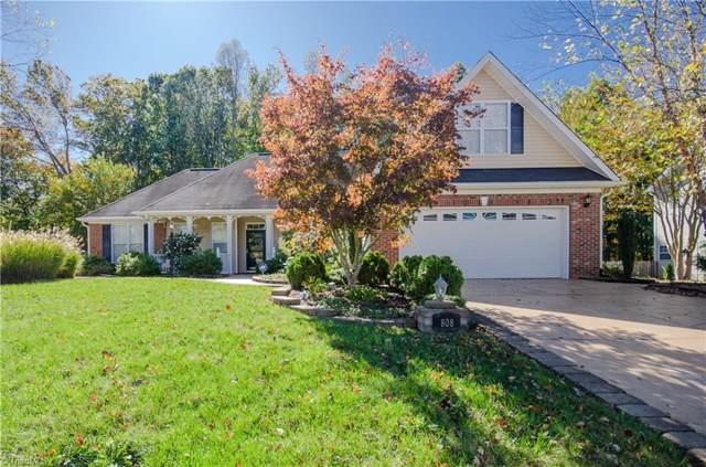 808 Croftwood Drive, Gibsonville, NC 27249 (MLS #955803) :: Ward & Ward Properties, LLC