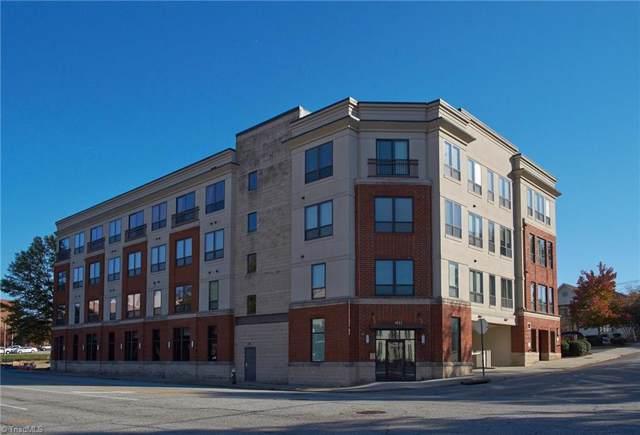 411 W Washington Street #308, Greensboro, NC 27401 (MLS #955892) :: Ward & Ward Properties, LLC