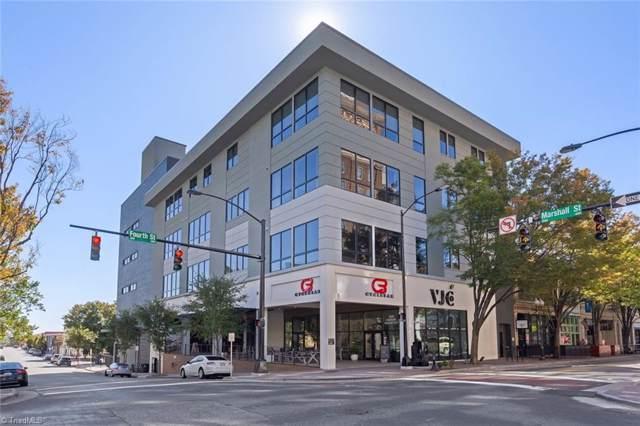 400 W 4th Street #401, Winston Salem, NC 27101 (MLS #956107) :: Ward & Ward Properties, LLC
