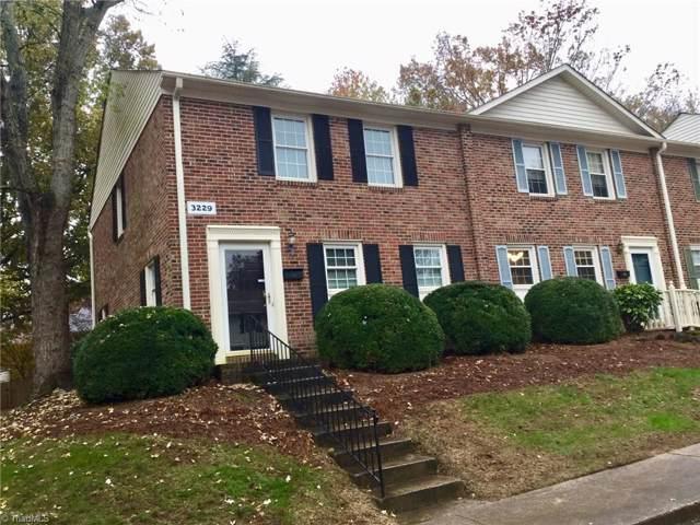 3229 Regents Park Lane A, Greensboro, NC 27455 (MLS #957335) :: Ward & Ward Properties, LLC