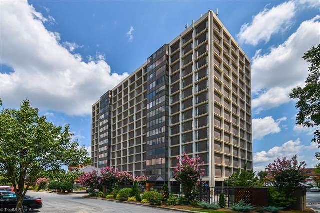1101 N Elm Street #608, Greensboro, NC 27401 (MLS #957382) :: Ward & Ward Properties, LLC