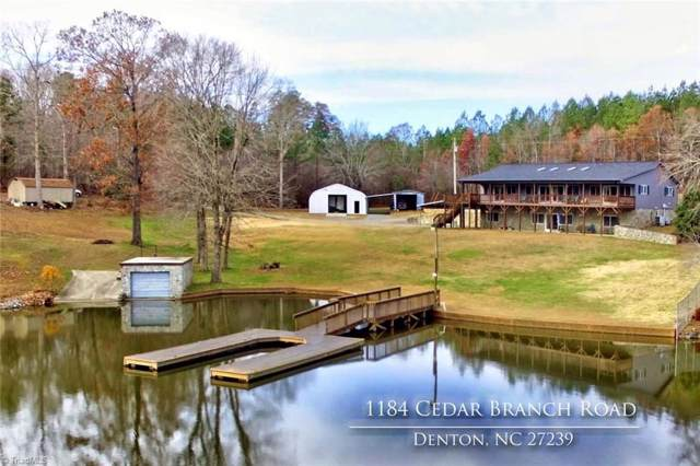 1184 Cedar Branch Road, Denton, NC 27239 (MLS #959647) :: Ward & Ward Properties, LLC