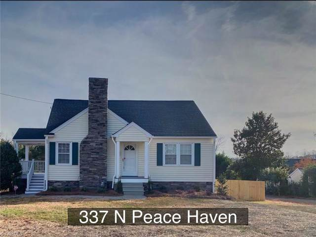 337 Peace Haven Road, Winston Salem, NC 27104 (MLS #959840) :: Berkshire Hathaway HomeServices Carolinas Realty