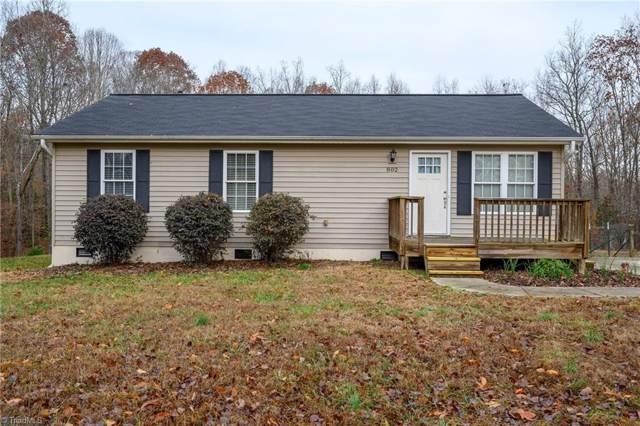 802 Riverwood Road, Lexington, NC 27292 (MLS #959855) :: Berkshire Hathaway HomeServices Carolinas Realty