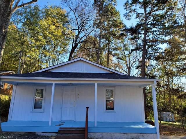 1034 Pegram Avenue, High Point, NC 27263 (MLS #959887) :: Berkshire Hathaway HomeServices Carolinas Realty