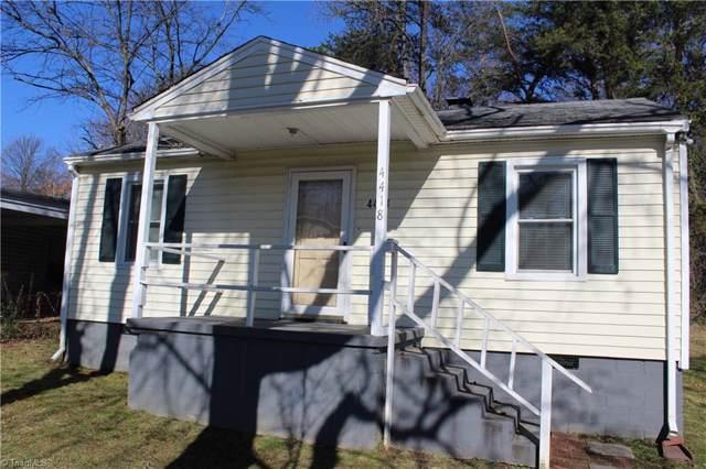 4418 Trinity Avenue, Greensboro, NC 27407 (MLS #961345) :: Ward & Ward Properties, LLC